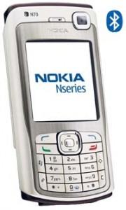Nokia N70 (bluetooth phone)