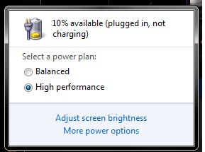plugged in not charging