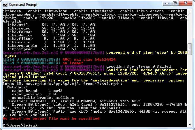 Download FFMPEG Source DirectShow for windows 10 pro 64bit last
